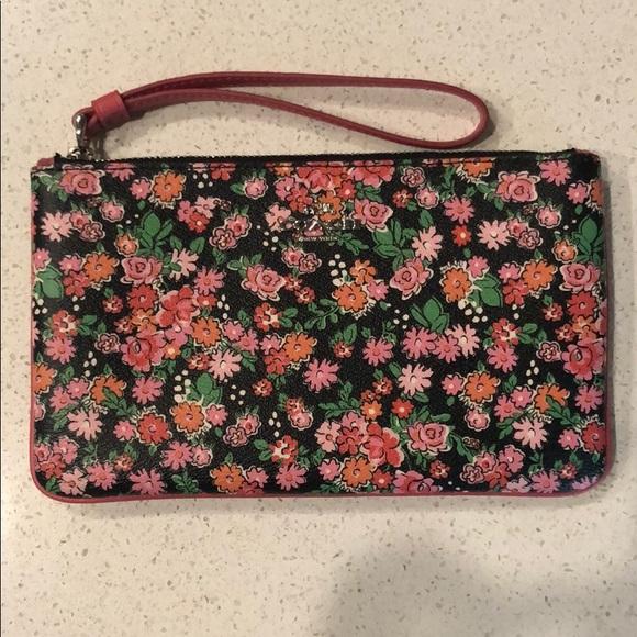 Coach Handbags - Floral Coach Wristlet